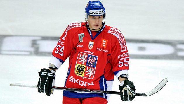 Martin Ševc v dresu národního týmu.