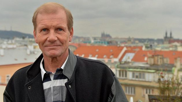 Juha Kankkunen při návštěvě Prahy.