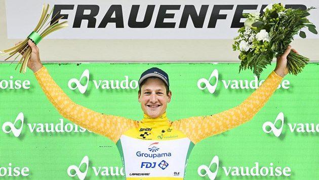 Stefan Küng ovládl úvodní časovku cyklistického závodu Kolem Švýcarska