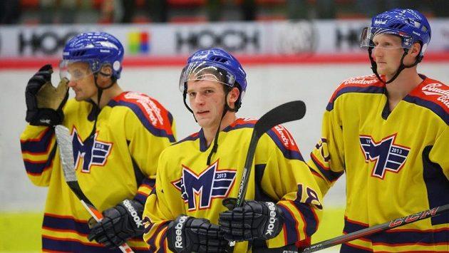 Hráči Českých Budějovic za sebou mají první přípravný zápas.