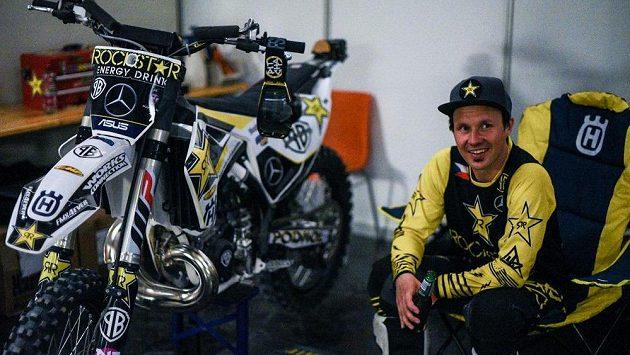 Freestyle motokrosař Libor Podmol