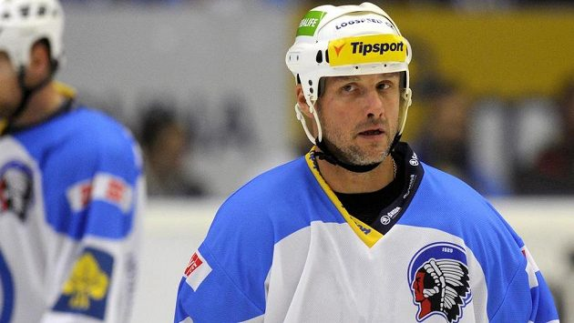 Kapitán plzeňských hokejistů Martin Straka dal Vítkovicím dva góly.