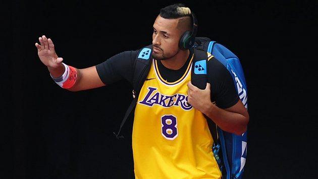 Fanoušci Los Angeles Lakers vzdávají hold Kobemu Bryantovi