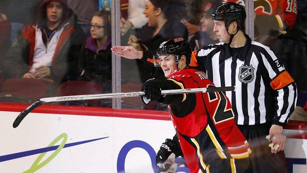 Jiří Hudler zatím v Calgary září.