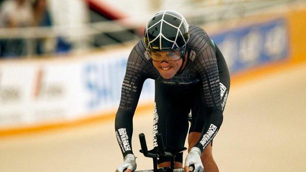 Nizozemský cyklista Thomas Dekker při pokusu překonat rekord v hodinovce