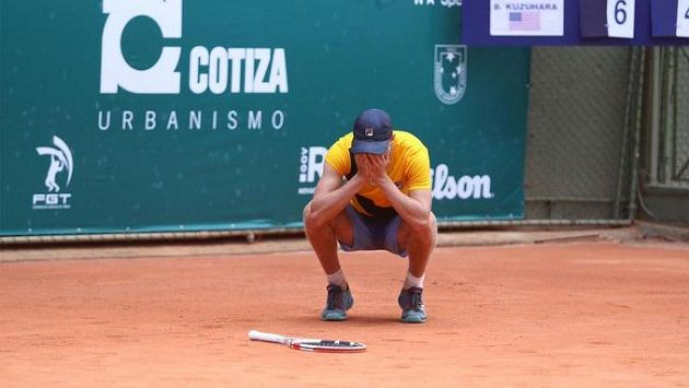 Mladý Leo Borg na archivním snímku z turnaje v Porto Alegre.