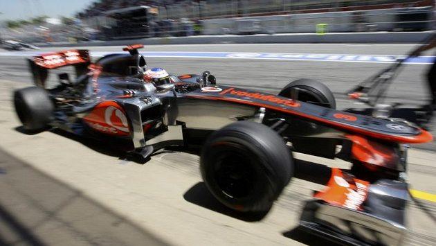 Jenson Button ze stáje McLaren