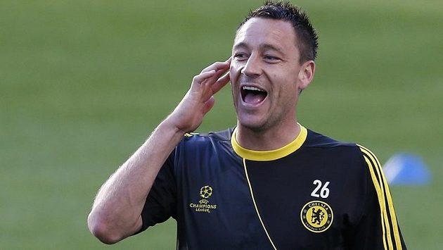 John Terry byl oporou Chelsea.