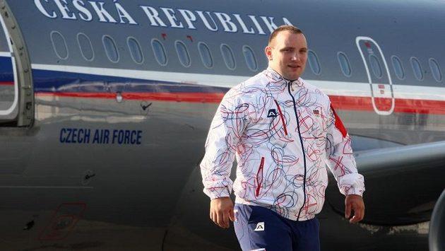 V současnosti nejlepší český vzpěrač Jiří Orság.