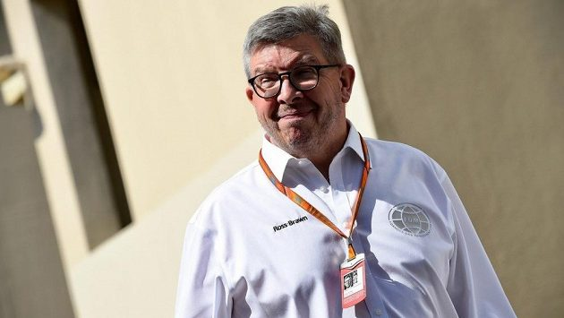 Sportovní šéf formule 1 Ross Brawn.