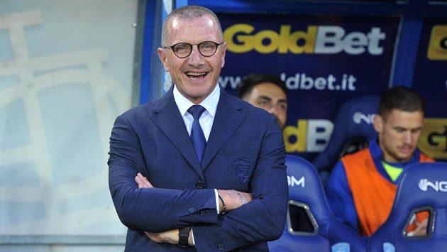 Dnes už bývalý kouč Empoli Aurelio Andreazzoli.