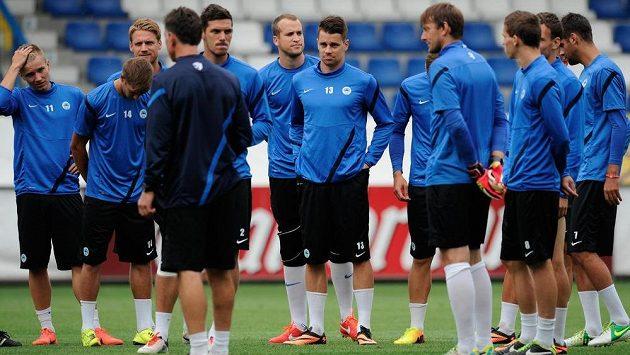 Fotbalisté Liberce se na domácím stadiónu U Nisy připravují na úvodní duel třetího předkola Evropské ligy proti týmu FC Curych.