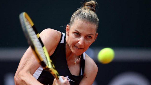 Česká tenistka Kristýna Plíšková dohrálav Hamburku ve druhém kole.
