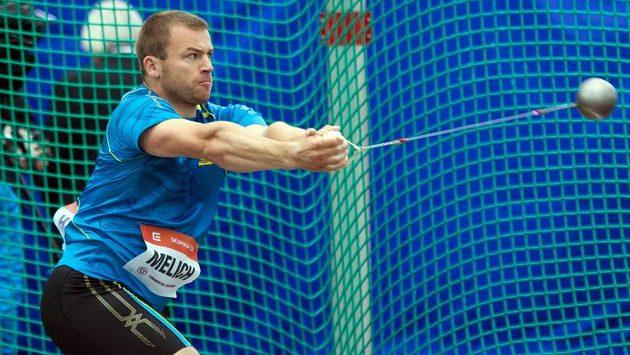 Kladivář Lukáš Melich obsadil na Zlaté tretře druhé místo.