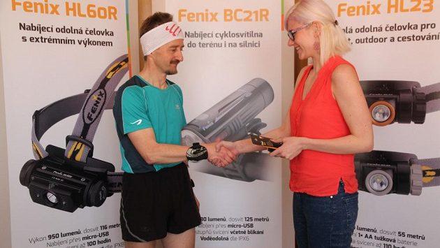 Endomondo challenge: Vítěz Tomáš si pro svou výhru do Fenixu doslova a do písmene doběhl.