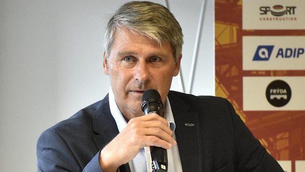 Ředitel mítinku Zlatá tretra a světový rekordman v hodu oštěpem Jan Železný.