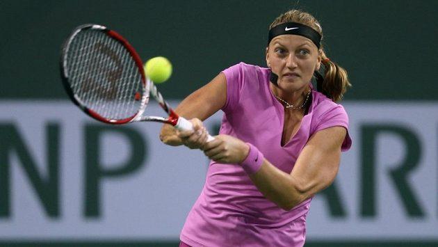 Petra Kvitová nestačila v osmifinále Indian Wells na Slovenku Cibulkovou.