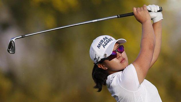 Korejská golfistka Kim Si-jong