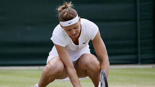Zklamaná česká tenistka Lucie Šafářová na letošním Wimbledonu definitivně dohrála.