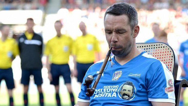 Kapitán plzeňských fotbalistů Pavel Horváth odešel do sportovního důchodu s fajfkou.