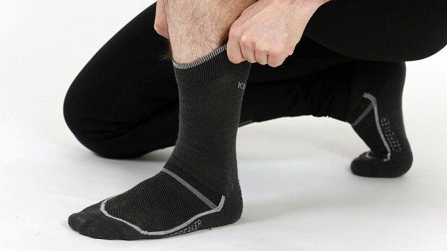 Ponožky z vlny merino jsou komfortní záležitostí.