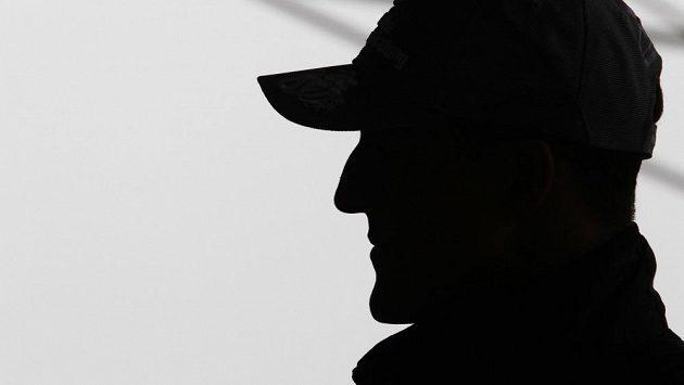 Typický profil Michaela Schumachera.