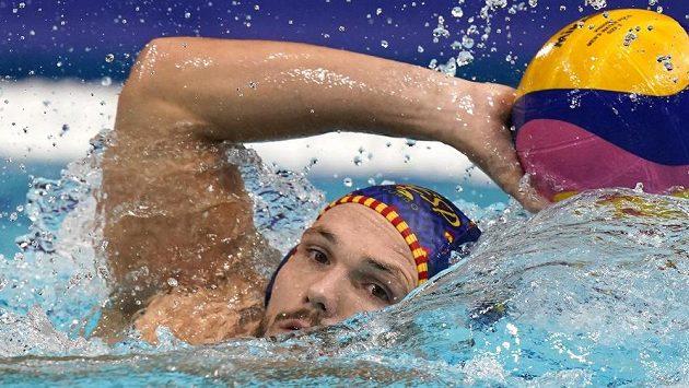 Strakonický vodní pólista Martin Faměra medaili v Tokiu za Španělsko nezíská.