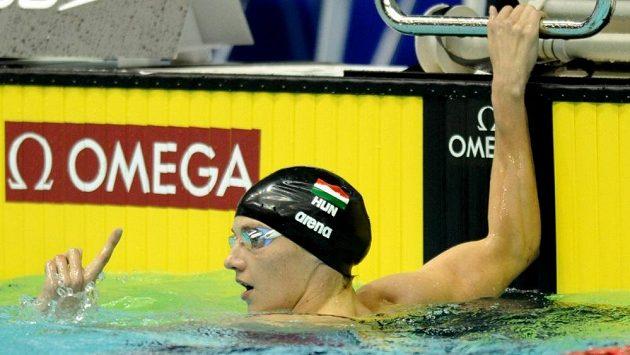 Maďarka Katinka Hosszúová získala cenu pro nejlepší světovou plavkyni roku.