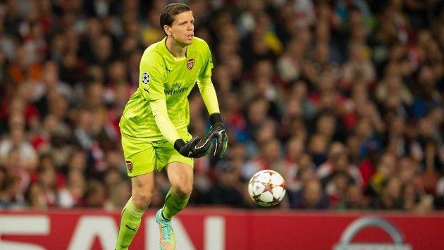 Brankář Arsenalu Londýn Wojciech Szczesny.