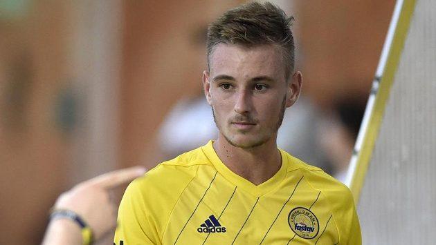 Fotbalista Jakub Janetzký ze Zlína vstřelil vítězný gól Teplicím.