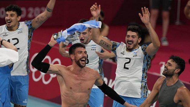 Volejbalisté Argentiny získali druhou medaili v historii OH
