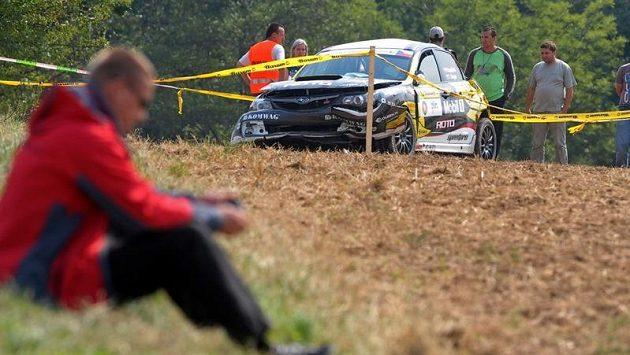 Zlínskou Barum rallye předčasně ukončila smrt jednoho z diváků ve třinácté rychlostní zkoušce. Vůz Subaru Impreza posádky Václava Kopáčka a Tomáše Singera vyletěl z trati a skončil mezi fanoušky.