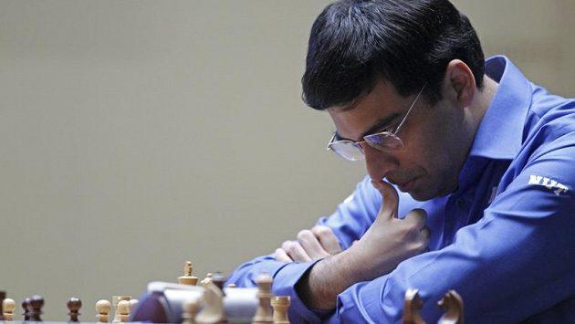 Indický šachista Višvánáthán Ánand.