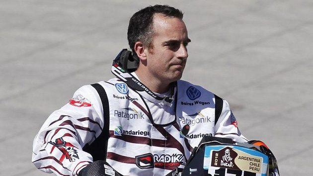 V první etapě Rallye Dakar v Argentině po nehodě zahynul domácí motocyklista Jorge Martínez Boero.