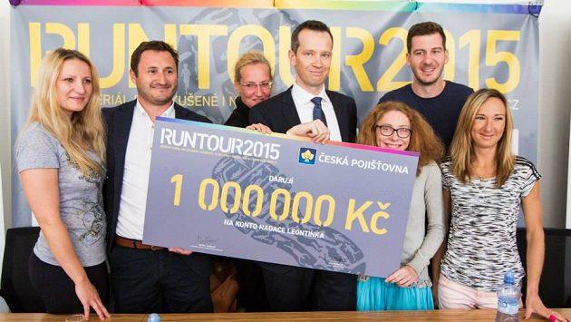 Milión se stal v rámci závodů RunTour skutečností.