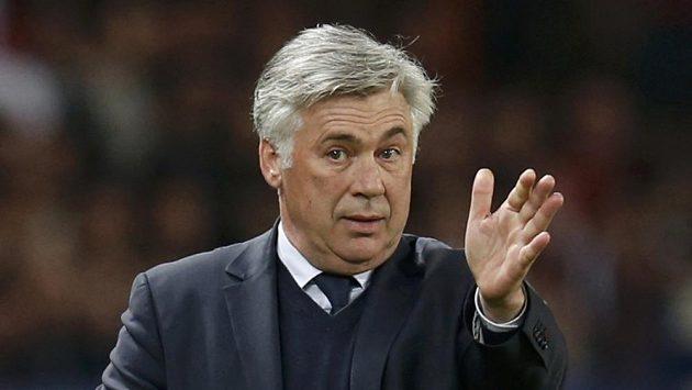 Trenér Paris Saint-Germain Carlo Ancelotti