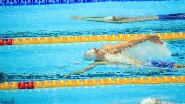 Český plavec Tomáš Franta na archivním snímku.