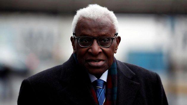 Bývalý šéf IAAF Lamine Diack.
