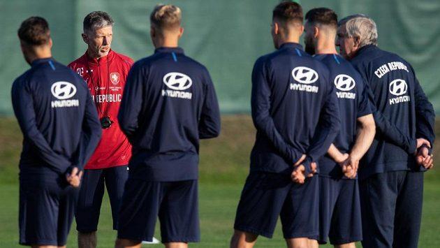 Trenér Jaroslav Šilhavý se má se svými svěřenci na co těšit. Na podzim čeká českou reprezentaci příprava s Německem.