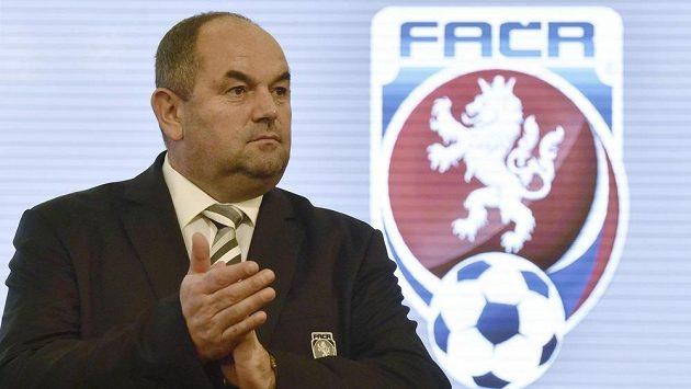 Předseda FAČR Miroslav Pelta.