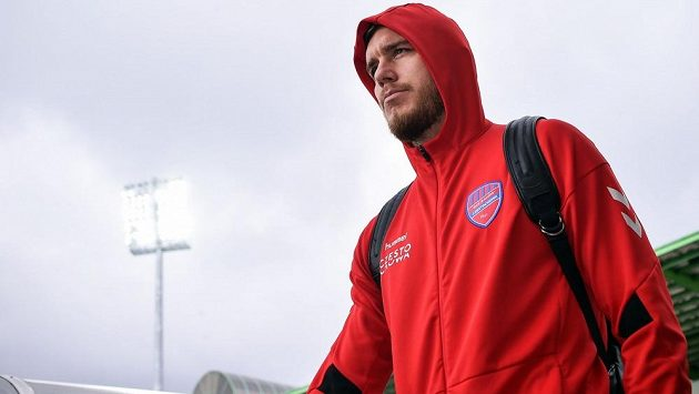 Český fotbalový obránce Tomáš Petrášek.