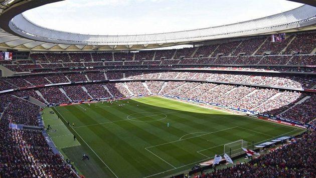 Stadion Atlética Madrid - ilustrační foto.