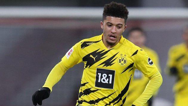 Jadon Sancho z Borussie Dortmund.