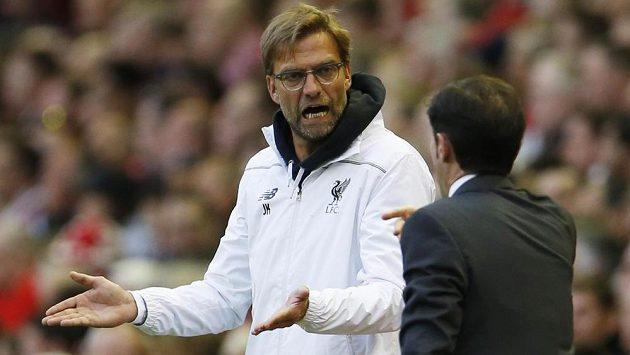 Kouč Liverpoolu Jürgen Klopp.