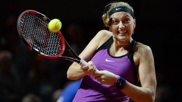 Petra Kvitová ve čtvrtfinále zdolala Španělku Muguruzaovou a ve Stuttgartu si zahraje o finále.