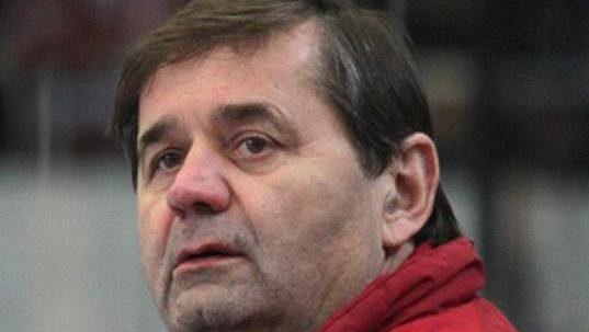 Břetislav Kopřiva, trenér hokejistů Chomutova.