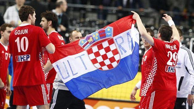 Házenkáři Chorvatska vybojovali na evropském šampionátu bronz.