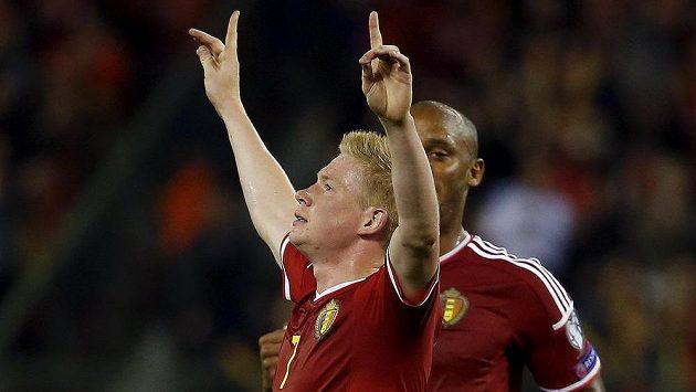 Ofenzivní záložník Kevin De Bruyne nezáří jen na klubové úrovni, ale i v reprezentačním dresu.