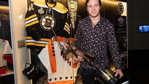 Ovládne David Pastrňák anketu Zlatá hokejka popáté v řadě?