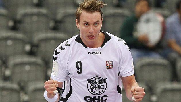 Filip Jícha byl nejlepším střelcem vítězů v duelu s Islandem.